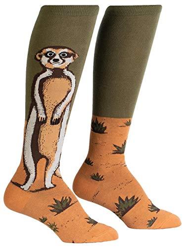 Sock It To Me Damen Kniestrümpfe Erdmännchen