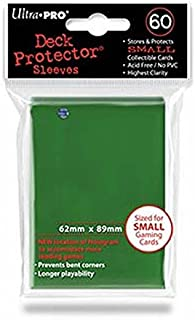 Ultra Pro Sleeves 60 d10 Card Game (Small, Green)