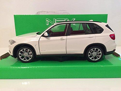 kompatibel mit Welly 24052 BMW X5 (F15) weiss Maßstab 1:24 Modellauto