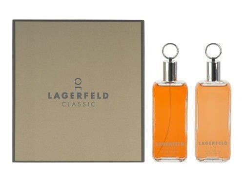 Lagerfeld Classic 125ml EDT + 125ml Aftershave Geschenkeset