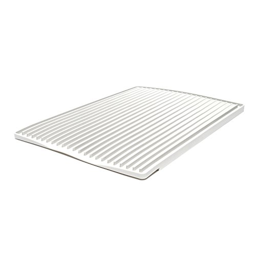ta da TDDDMLG Silicone Dish, Light Grey, Drain Mat, One Size