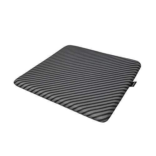 Amazon Basics Memory Foam Seat Cushion - Striped, Square