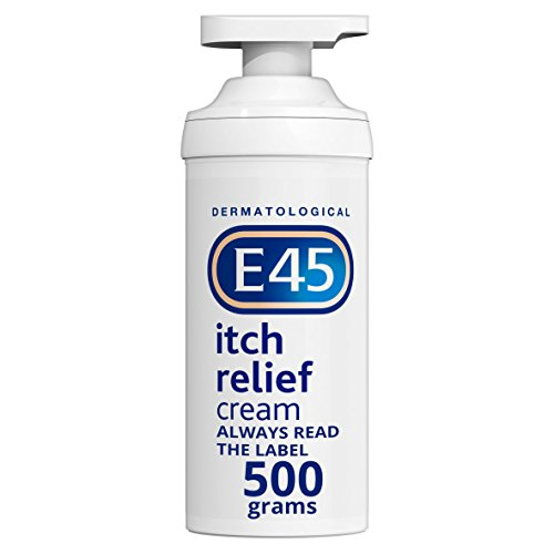 E45 Dermatological Itch Relief Cream, 500g
