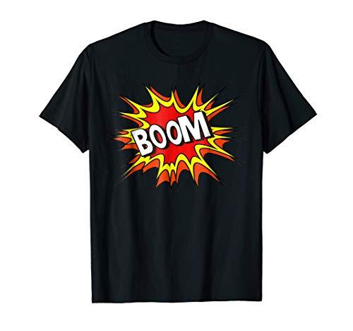 BOOM! Iconic Comic Tee Fun Shirt