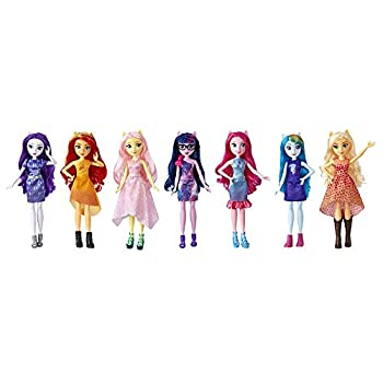 My Little Pony Equestria Girls Friendship Party Pack 7 Doll Pack with Removable Outfits & Shoes Great Gift for Kids