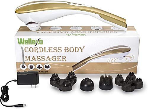 Wellexo Rechargeable Hand Held Deep Tissue Lower Back Massager