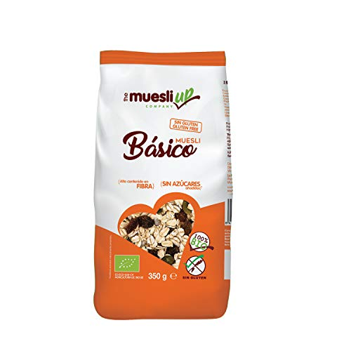 Muesli básico sin azúcar gluten free BIO - Muesli Up - 350gr (BIO)