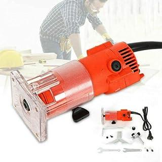 1/4 tum hållbar elektrisk enhandsfräs överfräs trimmer kantfräs laminat 3 000 rpm 300 W träfräs elektrisk trimmer kabelför...