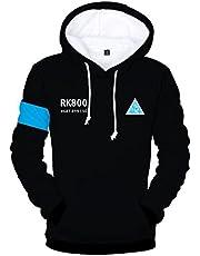 CTOOO 2018 Detroit Become Human Print dames heren hoodies sweatshirt paren capuchontrui XXS-XXXXL