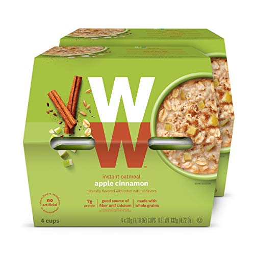 WW Apple Cinnamon Instant Oatmeal  3 SmartPoints  2 Boxes 8 Count Total  Weight Watchers Reimagined