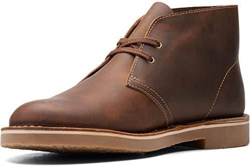 Clarks Men's Bushacre 3 Chukka Boot, Beeswax, 11