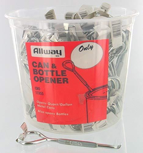 Allway Tools Cbo100 Can/Bttl Opener 100/Bkt