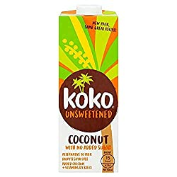 Fresh tasting and versatile to use as drinks and in cooking Made from freshly pressed coconut milk Calcium and fat levels matched to semi-skimmed milk Ideal for breakfast cereals, tea or coffee, sweet or savoury cooking, on its own as a refreshing co...