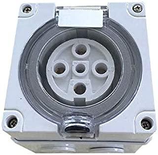 Gimax IP67 Australia Standard 5P Round Waterproof Sockets Waterproof Industrial Plugs Sockets - (Pins: 5P 20A)