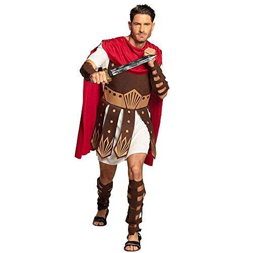 Boland 83806 - Erwachsenenkostüm Gladiator, Herren, Cesar, Römer, Arena, Kampf, Colloseum, Karneval, Halloween, Fasching, Mottoparty, Verkleidung, Theater