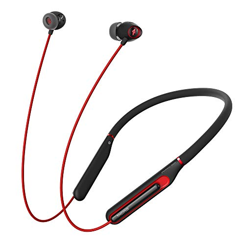 1MORE Spearhead VR BT in-Ear Headphones Bluetooth Gaming Earphones with Microphone, 3D Stereo Wireless Sound, LED, Environmental Noise Cancellation, Fast Charging and Volume Controls for Esports