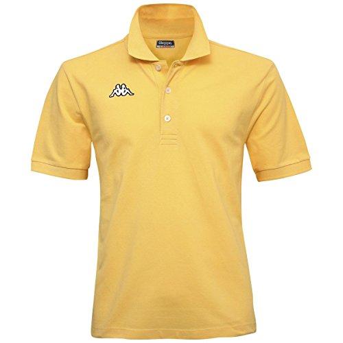 Kappa - Polo SHARAS MSS LT, colore: giallo Giallo Lt. S