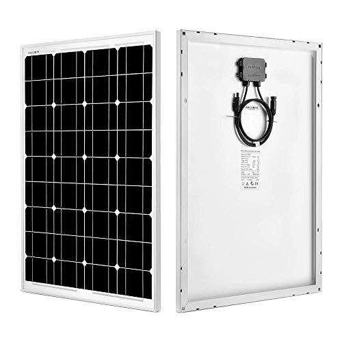 SUNGOLDPOWER Monocrystalline Solar Panel 60 Watt Solar Module Grade A Solar Cell