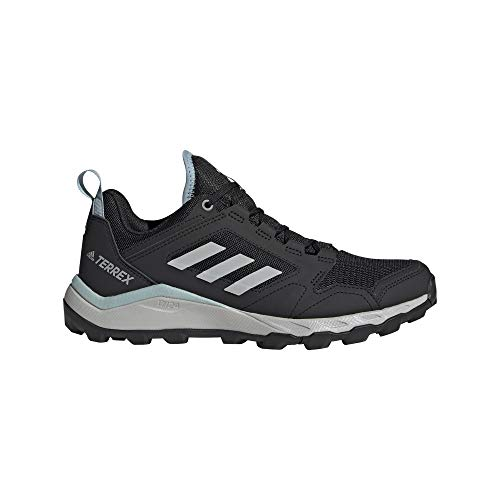 Adidas womens Terrex Agravic Trail Sneaker, CBLACK/GRETWO/ASHGRE, 5 US