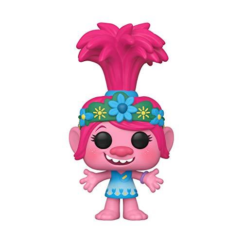 Funko 47000 POP Movies: Trolls World Tour-Poppy Sammelbares Spielzeug, Mehrfarben