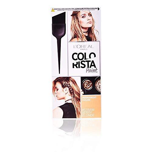 L'Oréal Paris Colorista Paint Colorazione Permanente con Pennello, Colore Ricco di Riflessi, Biondo Fragola (Strawberry Blonde)