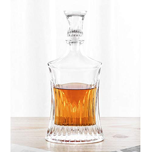 Our #7 Pick is the Momstir Striped Thin Dry Bar Whiskey Decanter