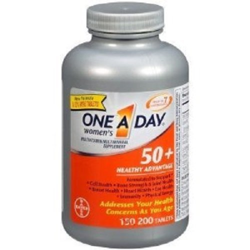 One A Day Women's Multivitamin Multimineral Supplement 50+ Healthy...