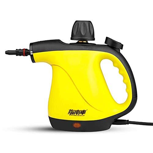 Máquina Limpiadora A Vapor De Mano Máquina De Limpieza Vaporizador Libre De Químicos De Alta Presión para Automóviles con Accesorios De 9 Piezas para La Eliminación De Manchas