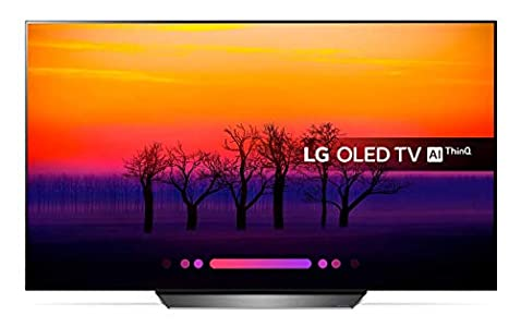 Lg Electronics Vvlgxlc5503371 Visera Plástica Regulable con Orejeras Lg OLED TV 4K con Inteligencia Artificial, Procesador Α7, 100% HDR, Dolby Visión/Atmos