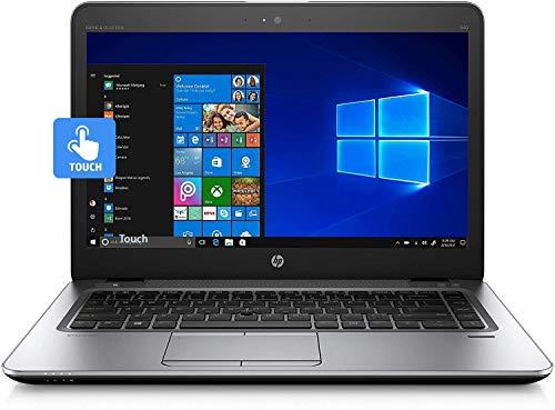 HP - Pantalla táctil para ordenador portátil ELITEBOOK 840 G3 de 14 pulgadas, Intel Core I5-6200U 6ª GEN (2,30 GHz), 16 GB RAM, 256 GB SSD WINDOWS 10 PRO 64BIT (renovado)