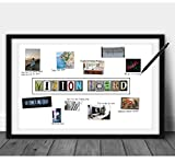 Katie Doodle Vision Board Supplies - Great Addition to Dream Board, Law of Attraction Vison Board Planner or Vision Board Kit for Adults - Supplies Includes 11x17 Inch Poster [Unframed]