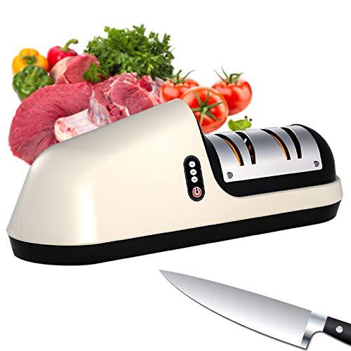 Elektrischer Messerschärfer, Multifunktionaler Elektrischer Messerscherenschärfer Für Zu Hause Mit Fase Crude Fine Wide Notch