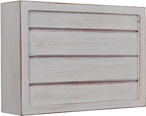 "Craftmade CH1305-WW Designer Shiplap Door Chime, Whitewash (6.7""H x 9.3""W)"