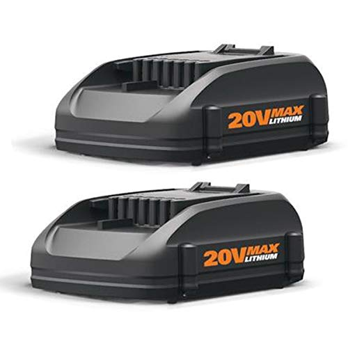 2Pack 3.0Ah 20V Lithium Battery for Worx WA3520 WA3525 WG629, WG155s WG156 WG251s WG255s WG540s WG890 WG891 WG921.