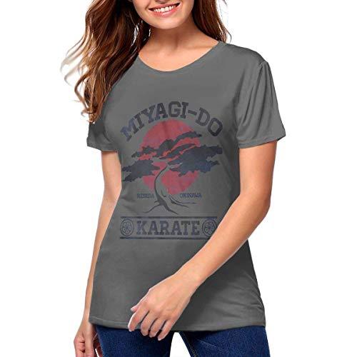 Karate Kid Miyagi Do Camiseta de algodón de Verano para Mujer