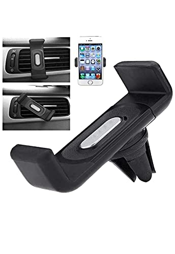 CAR-DEC Car AC Vent Universal Dashboard Mobile Holder with 360� Rotating Mount for Better Navigation and Performing Smartphone Tasks