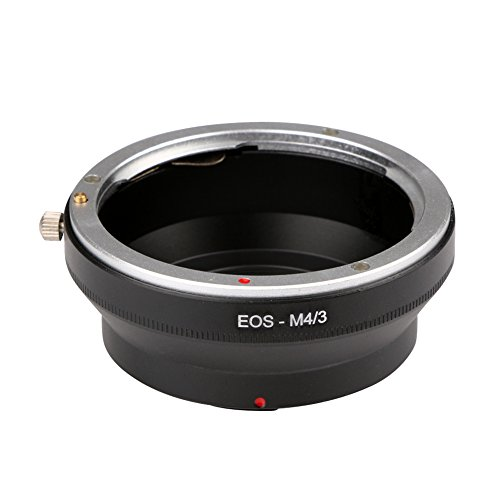 prettygood7 EOS-M4/3 voor Canon EOS EF Mount Lens To Olympus Micro 4/3 Adapter Ring