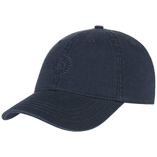 Bugatti Uni Classic Cotton Baseballcap Basecap Baumwollcap Strapback Cap (L/XL (58-60 cm) - dunkelblau)