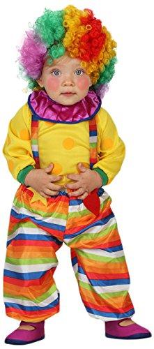 ATOSA 23752 - Clown Kostüm, Größe 12-24 Monate, bunt