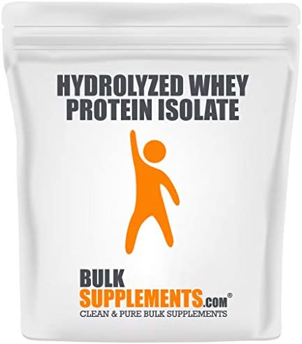 BulkSupplements.com Whey Protein Isolate Powder - Protein Supplement - Protein Powder Unflavored - 90% (1 Kilogram - 2.2 lbs - 33 Servings)