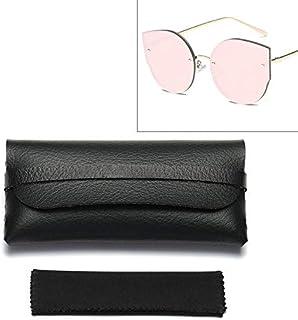 DSLSM サングラスメガネ用特別デザイン超軽量レザー保護ケース