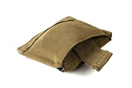 Blue Force Gear Belt Mounted Ten-Speed Dump Pouch, Small, with Adjustable Belt Loop in Coyote Brown (BT-DP-S-CB)