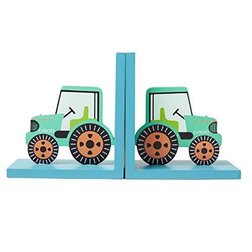 & sass belle serre-livres en forme de tracteur