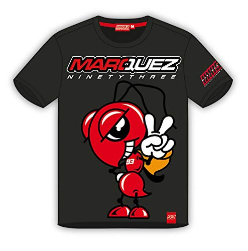 M&M's Camiseta de Marc Marquez - Noventa y Tres - Gris -...