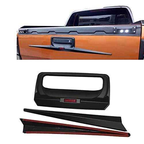 Autotürgriff-Abdeckung für Heckklappe, Verkleidung für Ford Ranger Wildtrak 2012–2020 T6 T7 PX MK1 MK2 MK3 Auto-Styling-Zubehör (hintere Türabdeckung)