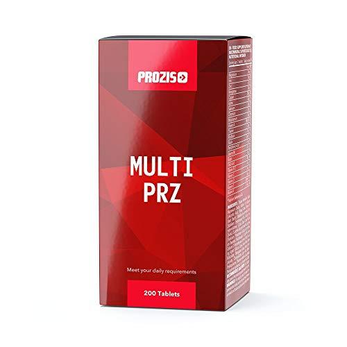 Prozis Multi PRZ 200 tabs Solución Completa De Vitaminas Y Minerales, Refuerza La Salud Y El Bienestar General, Práctica Dosis Diaria Da Calidad Superior