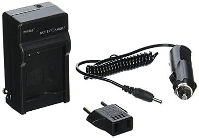 Panasonic Lumix DMC F3 Digital Camera Battery Charger   TechFuel AC & DC Compatible Travel Battery Charger