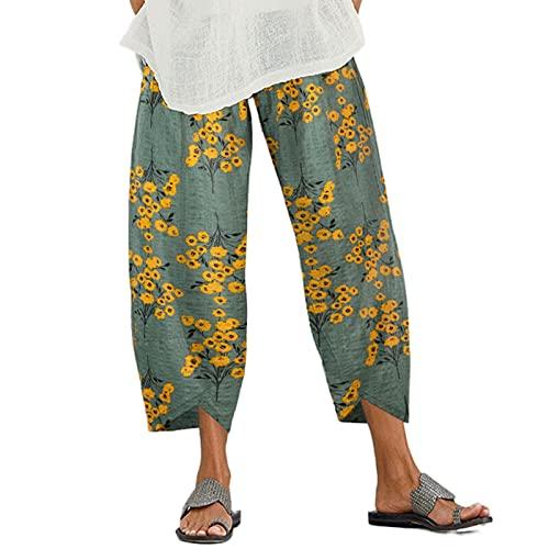 classifica I pantaloni lino larghi