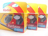 Kodak Fun Flash Appareil Photo jetable - 39 expositions, Lot de 3