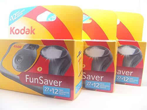 Kodak Fun Flash Disposable Camera–39Expo sures 3Pack